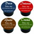 Pack Degustation Dolce Vita Pour Lavazza Blue