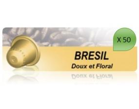 Capsulo Bresil X50 Pour Nespresso
