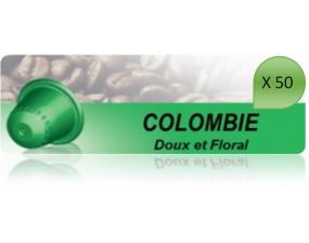 Capsulo Colombie X50 Pour Nespresso