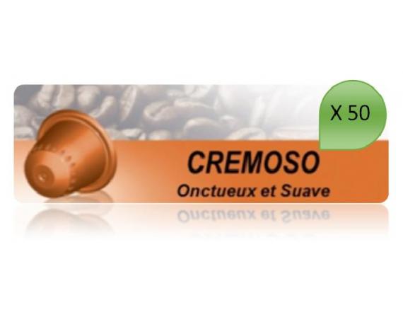 Capsulo Cremoso X50 Pour Nespresso