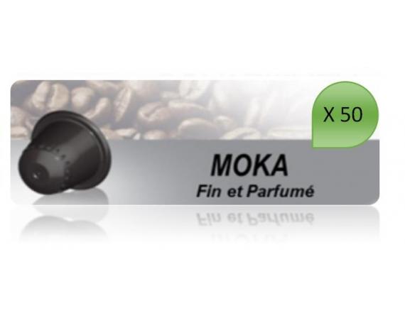 Capsulo Moka X50 Pour Nespresso