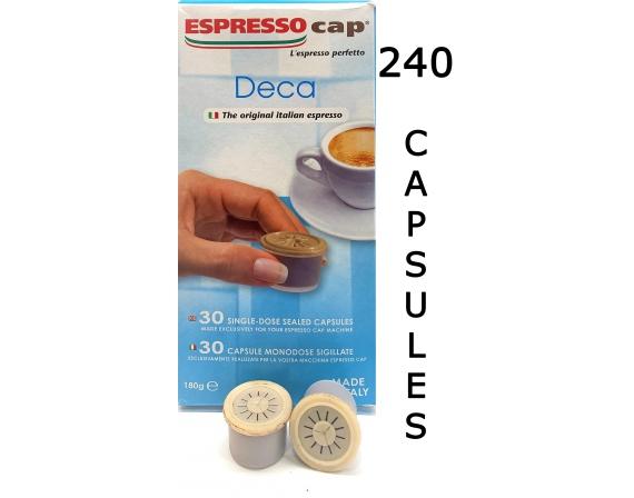 Espresso Cap Deca 240