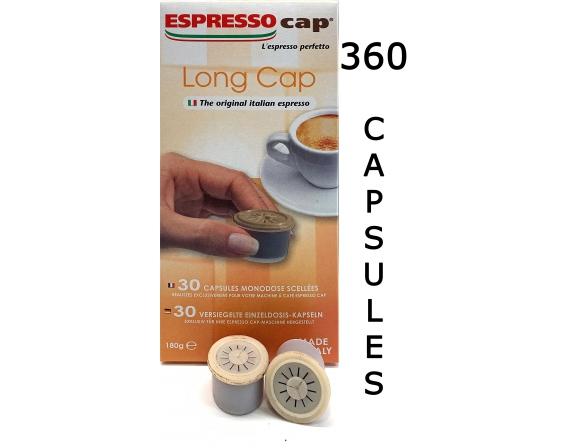 Espresso Cap Long Cap 360