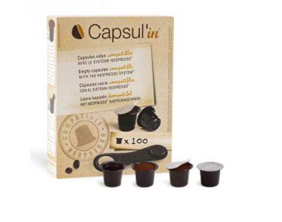 Dosettes Nespresso Vides Capsul'in